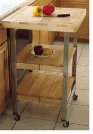 folding kitchen island butcher block kitchen island