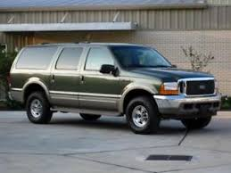 2000 ford excursion 2000 ford excursion limited 7 3l diesel 4x4 low mileage ebay