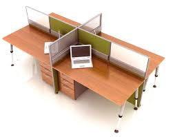 Office Table With Partition Afiah