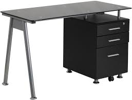 Office Desk With Glass Top Best 25 Black Glass Computer Desk Ideas On Pinterest Desk For