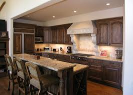 kitchen design island with half wall french country outdoor