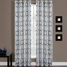 Drapery Panels With Grommets Bed Bath U0026 Beyond Portinari Grommet Top 84 Inch Window Curtain
