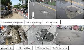 underground pipeline management based on road information modeling