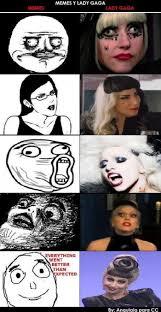 Lady Gaga Meme - gaga face