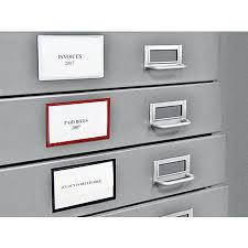 file cabinet label holders magnetic label holders for file cabinets f34 for cool interior decor