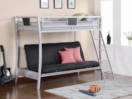 Loft Bed With Futon Underneath Futon Mattress Of Size Loft Bed With Futon