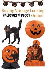 vintage beistle halloween decorations