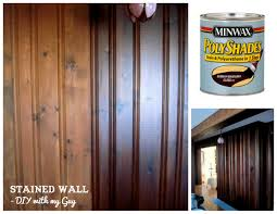 Stained Wood Panels | how to stain old wood paneling without sanding could come in