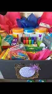 best 25 teacher gift baskets ideas on pinterest diy gift