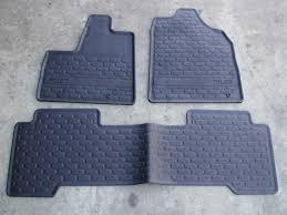 honda pilot all weather mats genuine honda pilot accessories factory honda accessories
