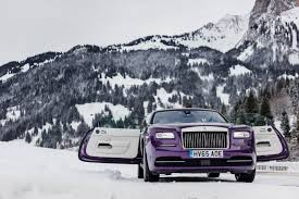roll royce purple gallery purple rolls royce wraith in the swiss alps gtspirit