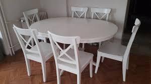 yemek masasi beyaz ikea ingatorp yemek masası kullanılmış yemek masası satıcı