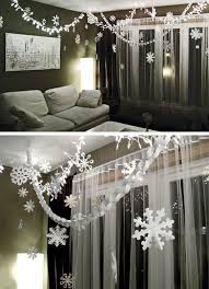 the best diy and decor paper chains and snowflakes crafts