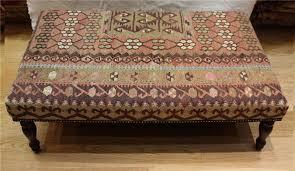 furniture r4739 antique kilim ottoman stool table 608