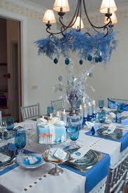 all white christmas table decorations ideas decoration for dinner
