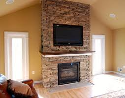 can you have a tv above wood burning fireplace image collections
