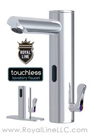 bathroom touchless faucet royal line