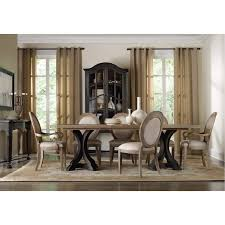 Hooker Furniture  Corsica Rectangle Pedestal Dining - Hooker dining room sets
