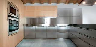 decor ideas for kitchens metal kitchen cabinets stainless steel