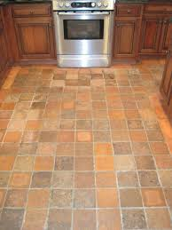 tile floors oak and white kitchen cabinets 30 electric range