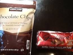 costco kirkland chocolate chips packaged foods chocolate