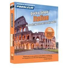 italian simple cd language course learn to speak italian