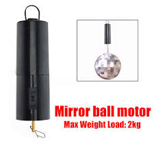 dc battery operated 8 10 12 disco mirror motor ornament