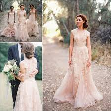 garden wedding dresses custom made v neck lace wedding dresses 2017 bridal gowns