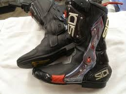 used motorcycle boots sidi vertebra boots used sz 44 speedzilla motorcycle message forums