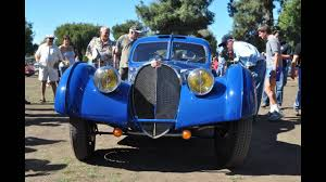 bugatti type 57sc atlantic jay leno u0027s 1937 bugatti type 57 sc atlantic at the french and