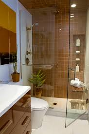 fancy bathroom ideas for small bathrooms with simple brown