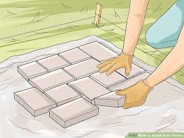 How To Install Pavers For A Patio 4 Easy Ways To Install Patio Pavers With Pictures