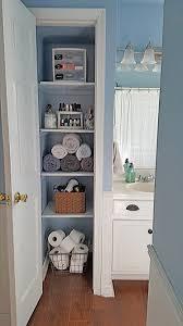 orginized organized linen closet