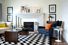 fashionable living room modern rugs graphic rugs living room mid