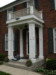 front porch post and slab replacement indianapolis remodeling