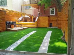 ideas and pictures of landscaping with synthetic turf