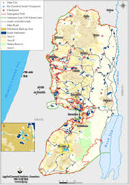 West Bank Map Israeli Re Classifies The Status Of Israeli Checkpoints In The