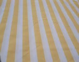 Striped Drapery Fabric Yellow Upholstery Striped Jewelry U0026 Beauty Etsy Studio