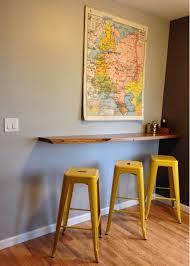 wall mounted pub table wall mounted pub table beautiful floating breakfast bar wall mounted