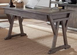 Oak Laptop Desk Poplar Solids And White Oak Veneers Laptop Desk In Rustic Saddle