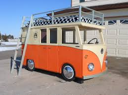 custom volkswagen bus the micro bus bunk bed and playhouse 14 steps with pictures