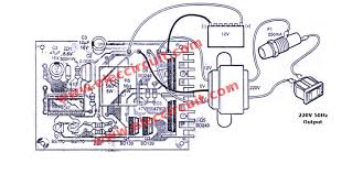dc to ac converter circuits 12v to 220vac u2013 electronic projects