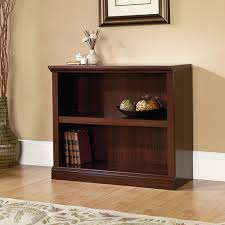 Sauder Premier 5 Shelf Composite Wood Bookcase Sauder 2 Shelf Bookcase Select Cherry Walmart