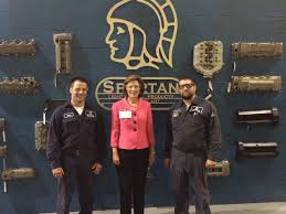 spartan light metal products rep vicky hartzler on twitter enjoyed touring spartan light metal