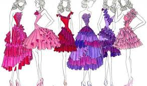design ideas for dresses drawing step by step thefashionweeks