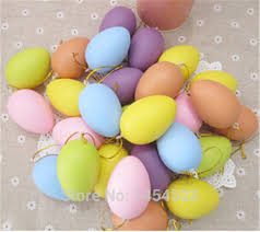easter gifts for children aliexpress buy 100pcs lot plastic easter eggs decoration 6x4