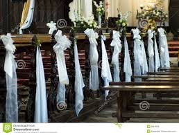 wedding decoration church royalty free stock photos image 5664948
