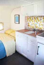 Camper Trailer Interior Ideas Homes On Wheels 5 Travel Trailer Makeovers We Love Porch Advice