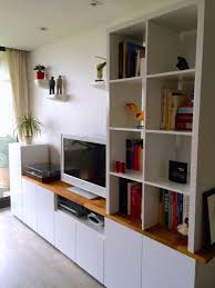 ikea hackers custom metod tv unit for the home pinterest