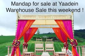 mandaps for sale yaadein events mandaps for sale at the yaadein warehouse